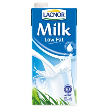 Lacnor Low Fat Milk 1 Ltr Meridukan Pk